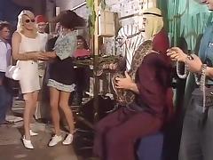 Deborah Wells, Emma Rush, Lynn LeMay in classic porn video