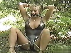 Horny slut bondage squirt