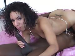 Pretty ass sistas drilled by a hard big black dick