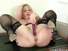 British mom takes matters into her own hands tube porn video