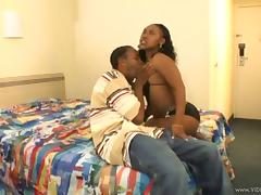Curvy Ebony With Black Butt Swallow Big Black Cock In Her Tight Cunt tube porn video