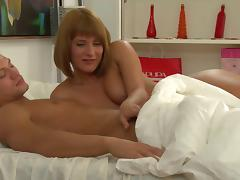 Enticing Teen With Hot Ass Riding Huge Cock Doggystyle