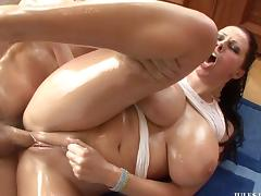 Tits Gianna oil big michaels