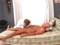 Charming Blonde With Big Tits Giving Huge Dick Titjob