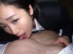 Teacher, Asian, Beauty, Blowjob, Couple, Cumshot