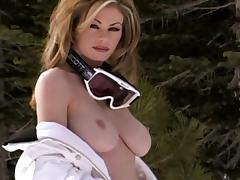 Busty Blondes Exposed - Crystal Beddows