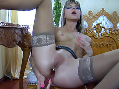 LacyNylons Video: Gina Gerson tube porn video