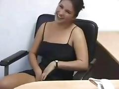 Laura Playing Naked in the Office Costa Rica Girl porn tube video