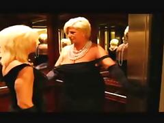 Lesbian Action #16 Two Classy Blonde GILF