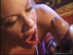 Bridgette Kerkove  enjoys blowjob and take cumshot in mouth porn tube video