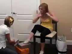 Feet, Feet, Femdom, Fetish, Lesbian