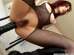 Big Cock, Big Cock, Blowjob, Couple, Fishnet, Hairy