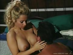 Lively MILF having her big tits sucked passionately before getting throbbed doggystyle