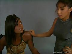 Black Lesbian, Black, Bra, Drilled, Ebony, Hardcore