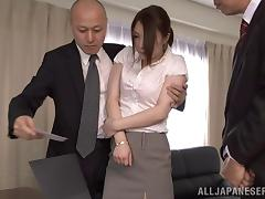Boss, Asian, Blowjob, Boss, Hardcore, Japanese