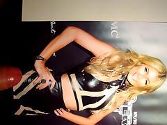 Paris Hilton - Cum tribute #1