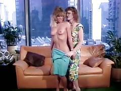 Colleen Brennan, Jamie Summers, Buck Adams in classic porn slut made the cut fucking a director