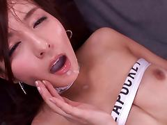 Hard pussy drilling for a nasty Japanese chick Jessica