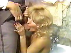 Sheri St. Claire, John Holmes, Jon Martin in vintage sex movie