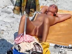 Beach, Beach, Blowjob, Public, Voyeur, Beach Sex
