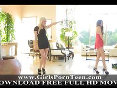 Cassie and Chloe adorable teen schoolgirl tube porn video