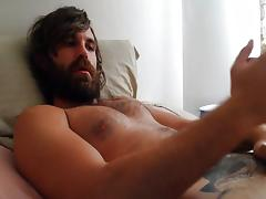 Cumshot to the Beard ! tube porn video