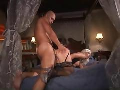 Bibi Fox Black Stockings Sex porn tube video