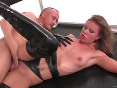 All, Boobs, Couple, Fingering, Hardcore, Leather