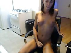 Grace Masturbate her cock and ass