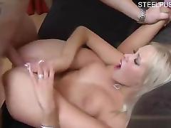 Hot cowgirl creampie pussy