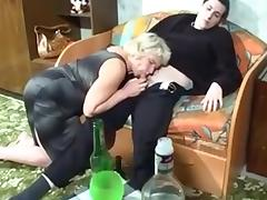 Mom and Boy, Amateur, Mature, Old, Russian, Old and Young