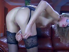 LacyNylons Video: Fiona A