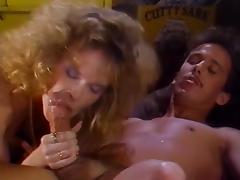 Debbie Areola, Erica Boyer, Nina Hartley in classic porn scene tube porn video