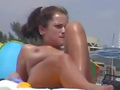 Caught, Amateur, Beach, Big Tits, Caught, Nude