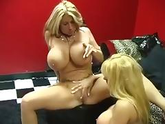 Big Breasted Lesbian MILFs Summer Sinn and Harmony Bliss