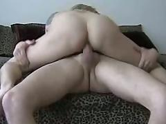 Amateur babe fingering her pussy before getting cock banged