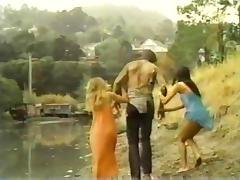 Lyn Cuddles Malone, Dan Roberts, Joey Silvera in classic sex clip