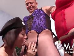 Mom and Boy, Amateur, Big Tits, Blowjob, Brunette, Cumshot