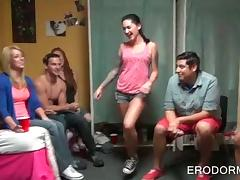 College sex party with striptease and nasty sex games