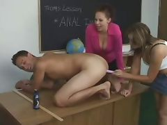 she teach his ass