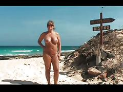 FKK Nudist holidays Fuerteventura tube porn video