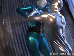 Latex, BDSM, Fetish, Fucking, Latex, Lesbian