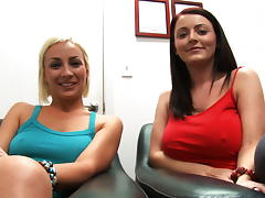 Lexi Swallow & Sophie Dee Attacks The Cock! tube porn video