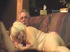 Grandma sucks grandpa tube porn video