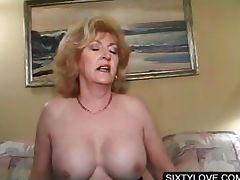 Blonde mature fucking horny penis tube porn video