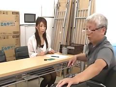 Japanese Grandpa having fun with young girls part 2 tube porn video