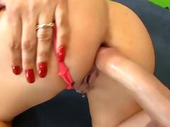 She likes to be fucked hard in her asshole tube porn video