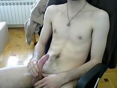 Massive cumming porn tube video