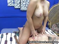 AmateurSmothering Video: Perfect MILF Tits trap