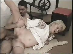 She got a cream pie after her hairy pussy is drilled hardcore